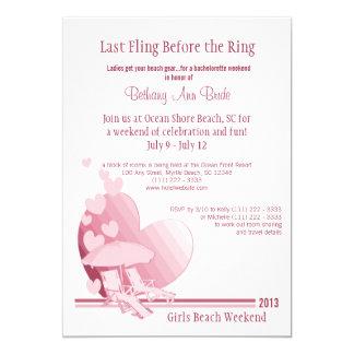 """Shore Love"" Bachelorette Weekend Card"