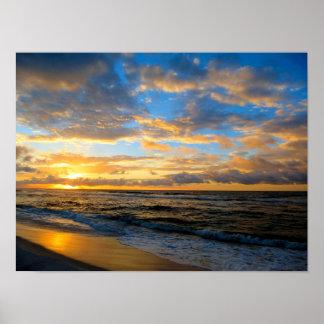 Shore Morning Poster