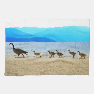 Shore Patrol Canada Geese Tea Towel