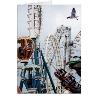 Shore Pier Vertical Greeting Card II