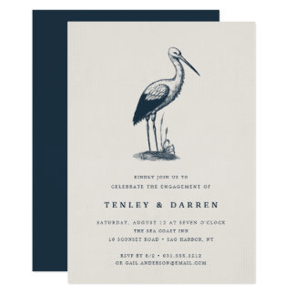 Shorebird | Engagement Party Invitation