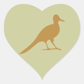 Shorebird Waders Shorebirds Bird Birds Seagull Heart Sticker