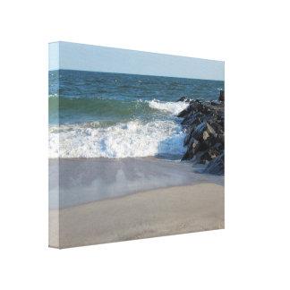 Shoreline Stretched Canvas Prints