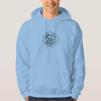 shoreline keeshonden hoodie