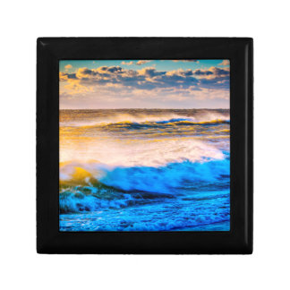 Shoreline scenic at sunrise gift box