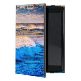 Shoreline scenic at sunrise iPad mini cover