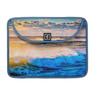 Shoreline scenic at sunrise sleeve for MacBook pro