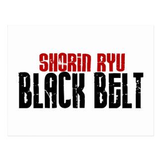 Shorin Ryu Black Belt Karate Postcard