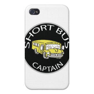 Short Bus Captain iPhone 4/4S Case