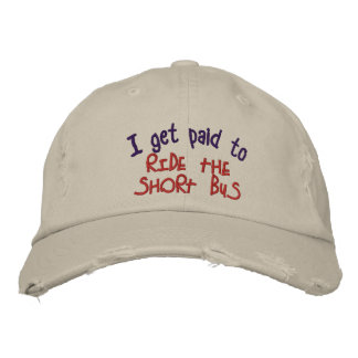 Short Bus Embroidered Hat