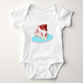 Short Cake Baby Bodysuit