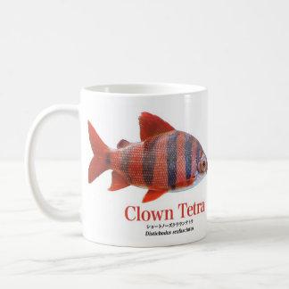 Short circuit nose & Crown tetra- magnetic cup Basic White Mug