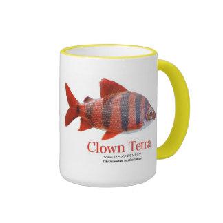 Short circuit nose & Crown tetra- Ringer Mug