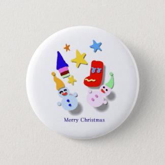 Short coat - Christmas 6 Cm Round Badge