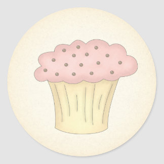 Short Cupcake Stickers