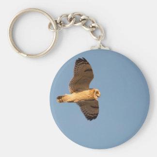 Short-eared Owl Keychain