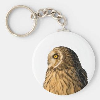 Short Eared Owl Keychain