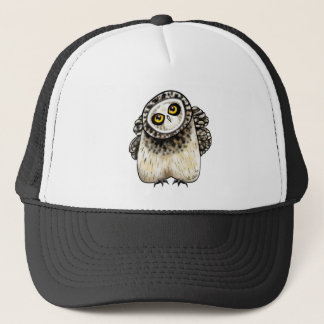Short eared Owl Trucker Hat