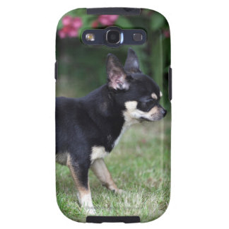 Short Haired Chihuahua Standing Samsung Galaxy S3 Cases