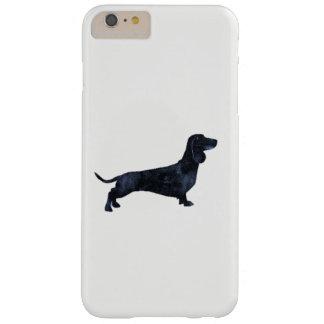Short haired Dachshund illustration iphone case