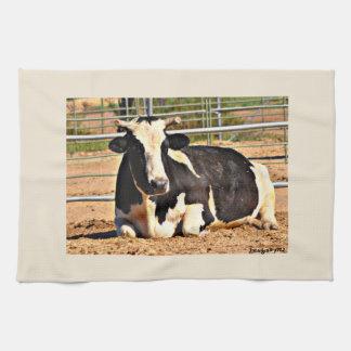 Short Horn Cow Kitchen Towel