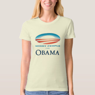 Short People for Obama T-Shirt