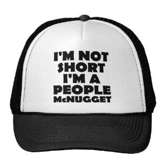 Short People Nugget Funny Ball Cap Trucker Hat
