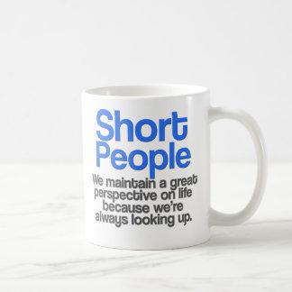 Short People Quote Mug