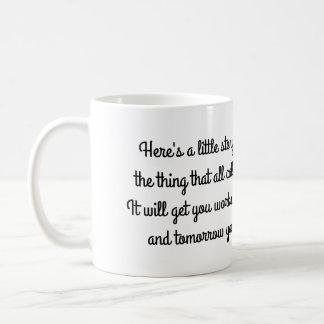 Short Poem Mug for Morning Coffee