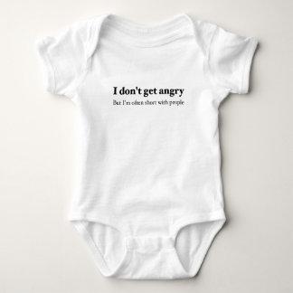 Short Temper Baby Bodysuit