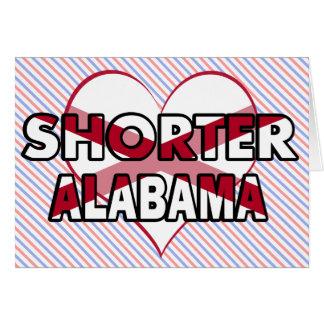 Shorter Alabama Greeting Card