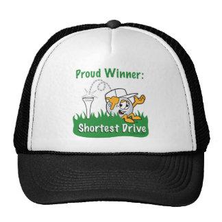 Shortest Drive Hole Prize For Golf Tournament Cap