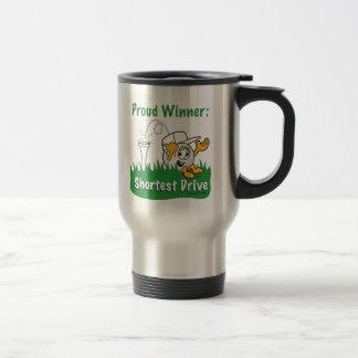 Shortest Drive Hole Prize For Golf Tournament Travel Mug