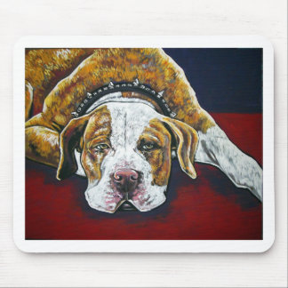 shorty's dog Hercules Mouse Pad