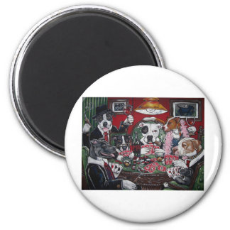 shorty's dogs playing poker magnet