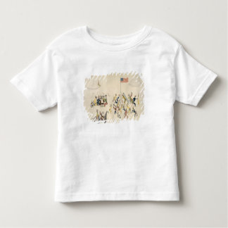 Shoshone dance participated in only by men (pigmen t-shirts