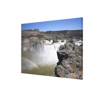 Shoshone Falls on the Snake River in Twin Falls, Canvas Print