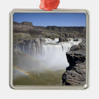Shoshone Falls on the Snake River in Twin Falls, Christmas Ornament