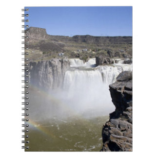 Shoshone Falls on the Snake River in Twin Falls, Spiral Notebook