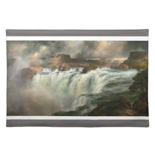 Shoshone Falls on the Snake River - Thomas Moran Place Mats