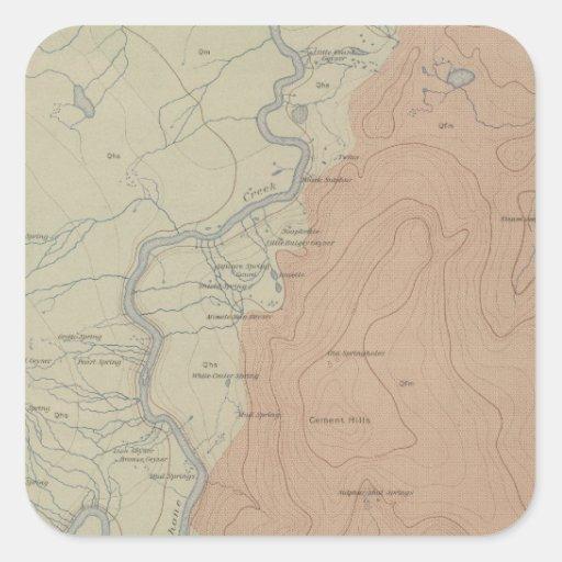 Shoshone Geyser Basin Stickers