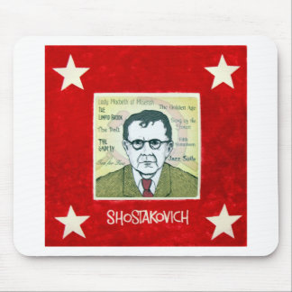 Shostakovich Mouse Pads
