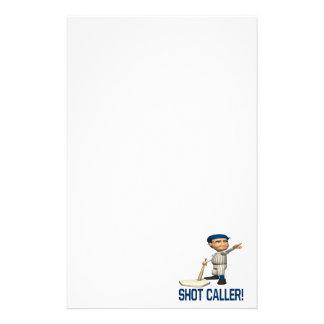 Shot Caller Stationery