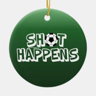 Shot Happens Ornament