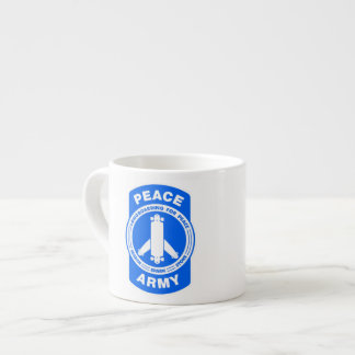 Shot of that Peace Army Espresso Cups