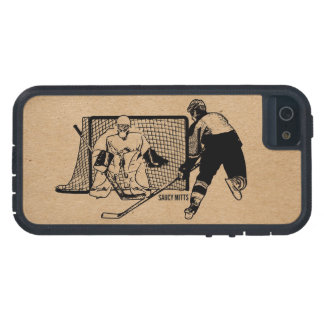 Shot on Net Hockey iPhone 5 Cover