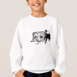 Shot on Net Hockey Sweatshirt