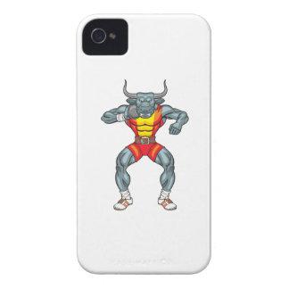 shot put bull 3 Case-Mate iPhone 4 case