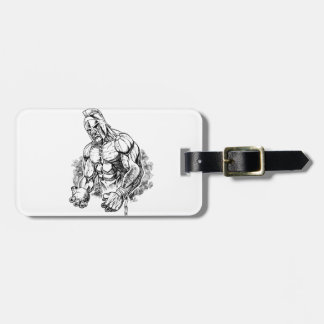 shot put gladiator bag tag