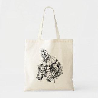shot put gladiator tote bag
